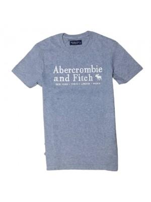 ΑΝΔΡΙΚΟ T-SHIRT ABERCROMBIE & FITCH ABT2120-GREY