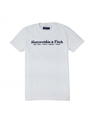 ΑΝΔΡΙΚΟ T-SHIRT ABERCROMBIE & FITCH ABT215-WHITE