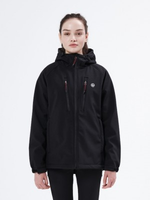 Women's Soft Shell Jacket with Hood