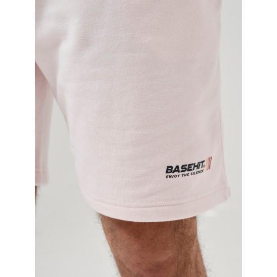 ΑΝΔΡΙΚΗ ΒΕΡΜΟΥΔΑ BASEHIT 211.BM26.36-PALE ROSE