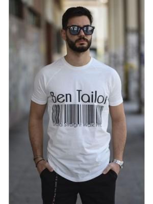 ΑΝΔΡΙΚΟ T-SHIRT BEN TAILOR BENT.0399-White