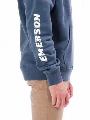 ΑΝΔΡΙΚΟ ΦΟΥΤΕΡ EMERSON Hooded Sweat 20-212.EM20.03-MIDNIGHT BLUE