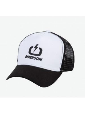 ΚΑΠΕΛΟ EMERSON 211.EU01.07-WHITE/BLACK