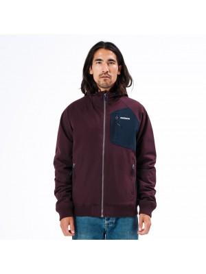 ΑΝΔΡΙΚΟ ΜΠΟΥΦΑΝ EMERSON Ribbed Jacket with Hood