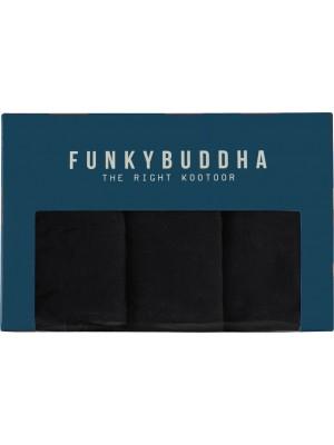 ΑΝΔΡΙΚΟ BOXER FUNKY BUDDHA FBM002-097-10-Black
