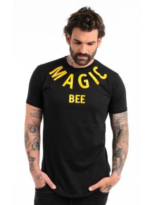 ΑΝΔΡΙΚΟ T-SHIRT MAGIC BEE CLOTHING WB20403_Black