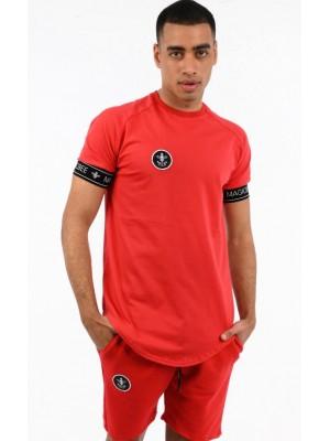 ΑΝΔΡΙΚΟ T-SHIRT MAGIC BEE CLOTHING WB20402_Red