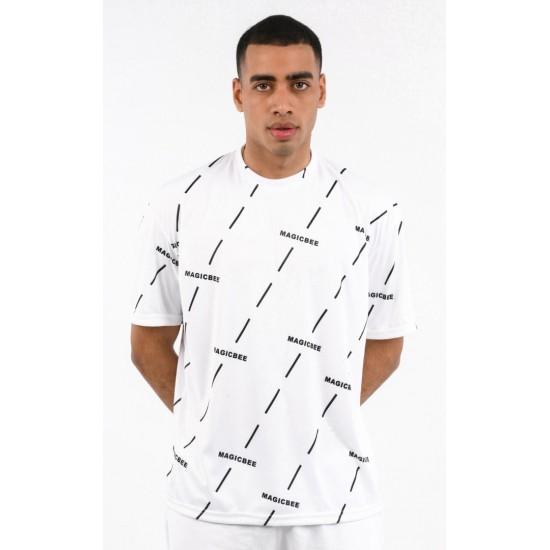 ΑΝΔΡΙΚΟ T-SHIRT MAGIC BEE CLOTHING WB20404_White