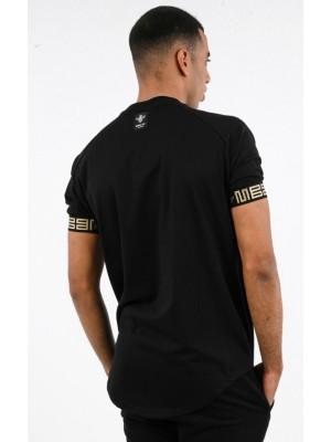 ΑΝΔΡΙΚΟ T-SHIRT MAGIC BEE CLOTHING WB20408_Black