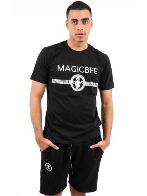 ΑΝΔΡΙΚΟ T-SHIRT MAGIC BEE CLOTHING WB20405_Black
