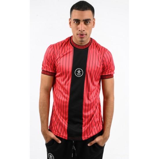 ΑΝΔΡΙΚΟ T-SHIRT MAGIC BEE CLOTHING WB20406_Red