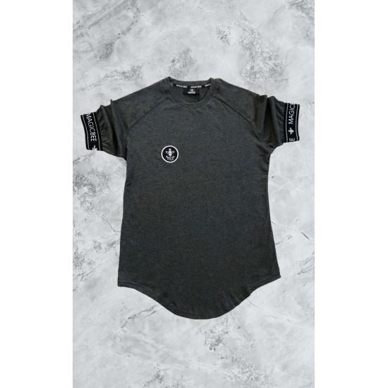 ΑΝΔΡΙΚΟ T-SHIRT MAGIC BEE CLOTHING WB20402_DARK.Grey