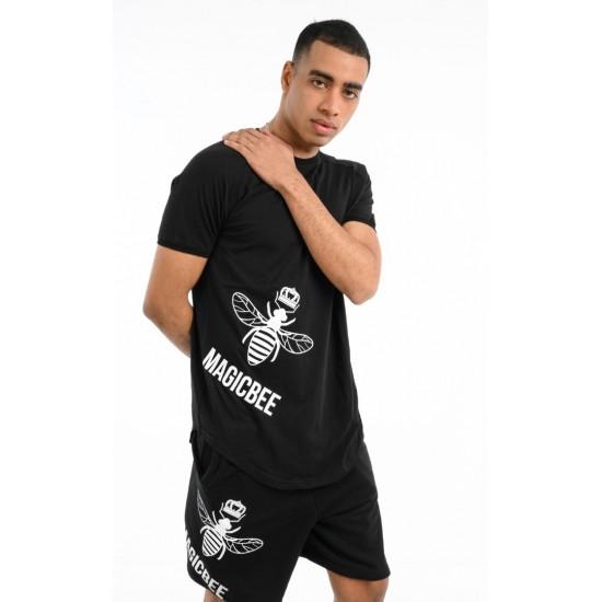 ΑΝΔΡΙΚΟ T-SHIRT MAGIC BEE CLOTHING WB20416_BLACK