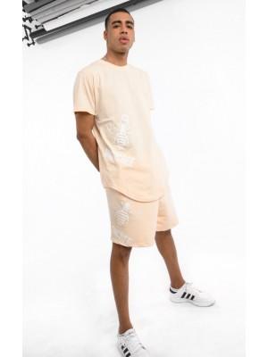 ΑΝΔΡΙΚΟ T-SHIRT MAGIC BEE CLOTHING WB20416_CREME