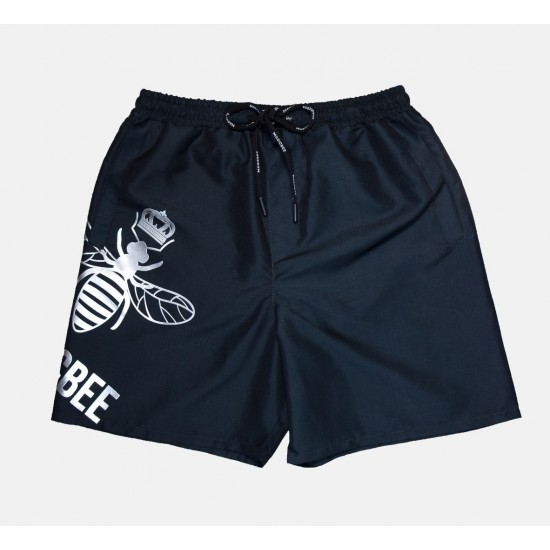 ΑΝΔΡΙΚΟ ΜΑΓΙΟ MAGIC BEE Logo Swim Shorts - Black