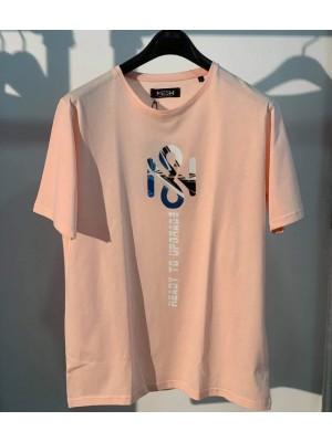 ΑΝΔΡΙΚΟ T-SHIRT MESH & CO Logo Colors